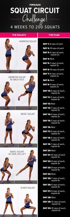 Print It, Do It: 30-Day Squat Challenge (via Bloglovin.com )
