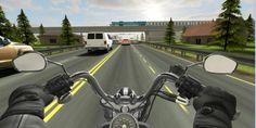 بالصور شرح لعبة سباق الدراجات النارية Traffic Rider - زووم على التقنية