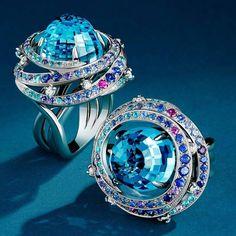 Galactica ring! A special order custom made in Paris ! #madeinfrance #bespoke #fredericmane #paris #designer #jewellery #highjewelry #frenchdesigner #frenchjewelry #luxe #luxury #gemstones #design #france #preciousstones #jewelrymaking #jewelrydrawing #vendome #joaillerie #bijou #instajewels #hautejoaillerie #jewel #jewels #gold #diamonds #gems #art #jewelrygram