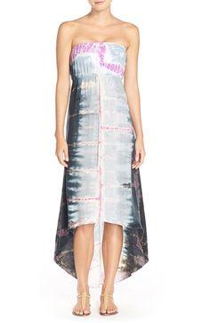 #HardTailForever Strapless High/Low Dress | #Nordstrom