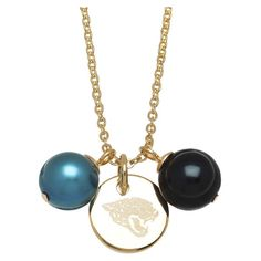 "Honora Officially Licensed NFL ""Carolina Panthers"" Freshwater Cultured... ($25) ❤ liked on Polyvore featuring jewelry, pendants, pearl pendant jewelry, pearl jewellery, pendant jewelry, disc pendant and charm pendant"