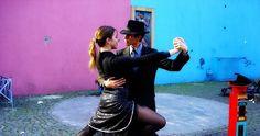 Onde assistir tango na rua em Buenos Aires #argentina #viagem