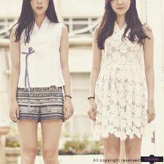 Korea traditional - modern clothes.