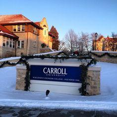 Stay warm #CarrollU!
