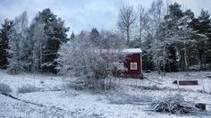 Winter at archipelago. Finland.