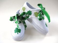 Girls Shamrock Shoes Baby and Toddler St por boygirlboygirldesign