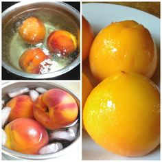 How to peel a peach without a knife via @kingarthurflour