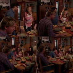 Ty: It's just so good to be home with my little. Ty: Did she just say dada? Amy: Did you just say dada? She said dada! Tim: She did, I heard that. Amy: Did you hear that? Heartland Season 11, Heartland Quotes, Heartland Amy, Spencer Twin, Ty E Amy, Amber Marshall, North America, Tv Series, Tv Shows