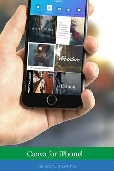 It's easier than ever now for businesses to tell their stories on social media with great images, thanks to Canva for iPhone. | https://www.thesocialmediahat.com/news/democratization-design-coming-iphone-near-you-07182016 via @mikeallton