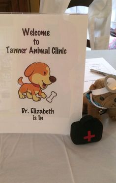Puppy Party - vet sign