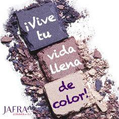 ¡Vive tu vida llena de color! http://jafra.me/f37 http://jafra.me/f38