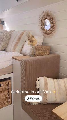 Van Conversion Interior, Camper Conversion, Campervan Hacks, Leisure Travel Vans, Minivan Camping, Kombi Home, Caravan Makeover, Van Home, Bus Camper