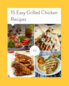 15 Easy Grilled Chicken Recipes - Simply Stacie