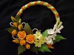 POLYMER CLAY. // THESE FLOWERS ARE EXQUISITE!!! ♥A
