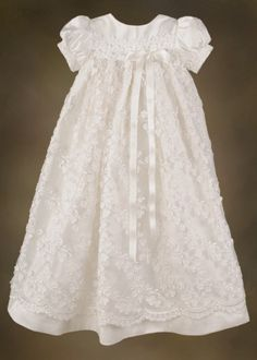 @Coleen Budreau Kennedy Irish Silk Christening Gown
