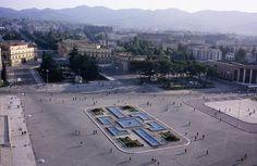 Tirana, Albania Main Square before renovation - LOOKDWN.com