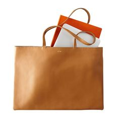 Skinny Laptop Tote | Mark and Graham
