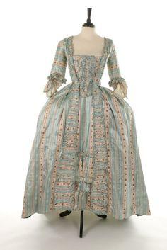 Robe à la française, 1770′s