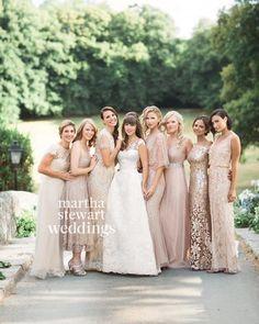 mismatched bridesmaid dresses 15 best outfits - bridesmaid dresses