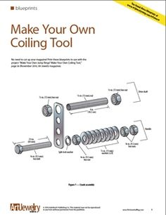 Blueprints: Make Your Own Coiling Tool for Making Jump Rings
