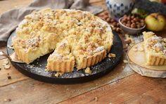 Apfel-Streusel-Kuchen mit Quark: Herbstkuchen ahoi!
