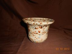 Small flower pot/ planter by kinzerellascreations on Etsy, $12.00