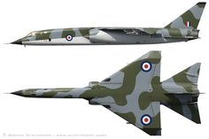 1964 British Aircraft Corporation (BAC) TSR-2