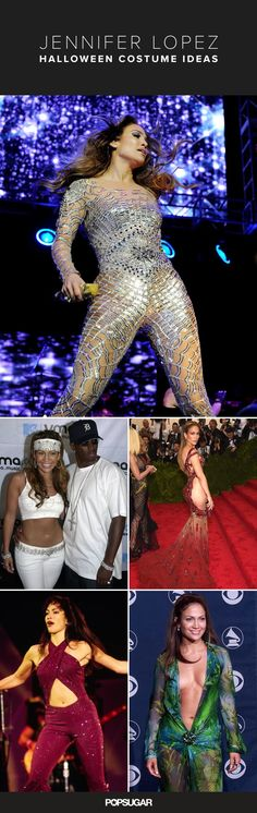 We're breaking down 17 of J. Lo's most famous looks that will have you shaking your booty as Jennifer this Halloween.