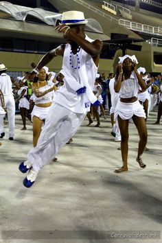 Samba dancer captivated by the spirit of the carnival