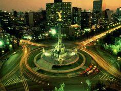 Angel de la independencia, Mexico DF