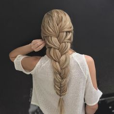 Perfect bug braid by @n.starck