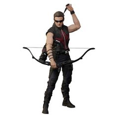 Avengers Hawkeye 1:6 Scale Movie Masterpiece Figure By Hot Toys