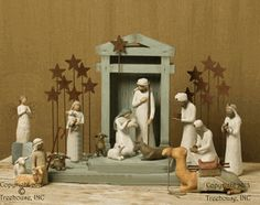 Willow Tree Nativity 18 Piece Set with FREE Shipping!
