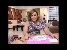 como fazer : porta retratos em tecido | Flávia Ferrari - YouTube