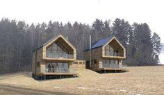 Český ostrovní dům - navrhl Filip Sládeček