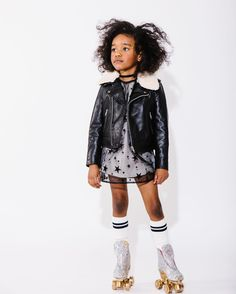 Love the 80s disco vibe from  @oaksofacorn AW17 collection showing @iloveplaytime #sneakpeek