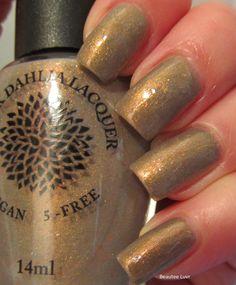 Black Dahlia Lacquer Copper Roses (warm)