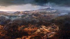 Landscape Fantasy Picture Art the Witcher 3 Wild Hunt Game 1920x1080