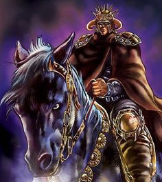 Raoh on his Pretty Pony