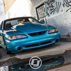 Bryan's gorgeous SN95 #Mustang!