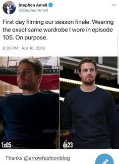 I never noticed this Arrow Tv Shows, Arrow Tv Series, Dc Tv Shows, Scandal Quotes, Glee Quotes, Scandal Abc, Dc Comics, Arrow Memes, Superhero Shows