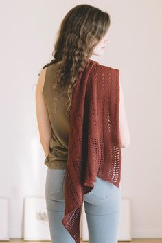 worcester shawl by bethany hick for scarves, etc. 5 / in quince & co. piper
