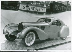 Ettore Bugatti's personal Type 57C and the Corgi Rolls Royce Pullman Silver Ghost to go to auction - Images