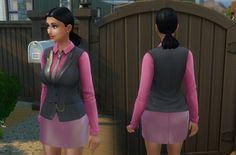 Mob Boss as Top at My Stuff • Sims 4 Updates