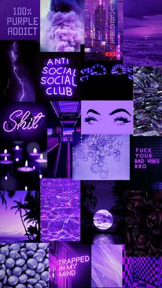 Bad Girl Wallpaper, Purple Wallpaper Iphone, Cartoon Wallpaper Iphone, Iphone Background Wallpaper, Retro Wallpaper, Wallpaper Quotes, Black And Purple Wallpaper, Ipod Wallpaper, Dark Purple Aesthetic