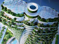 Spectaculaire groente steden. Artikel over stadslandbouw en stedelijk tuinieren. #stadstuinieren #urbanfarming
