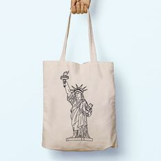 Items similar to New York Statue Of Liberty Illustration Pattern Cotton Shopper Tote Canvas Bag Shopping Gym Books Long Handles Boy Girl Cotton GiftFor Life on Etsy Funny Dog Fails, Funny Mom Jokes, Funny Couples Memes, New Funny Memes, Funny Quotes, Funny Christmas Sweaters, Christmas Humor, Funny Happy Birthday Images, New York Statue