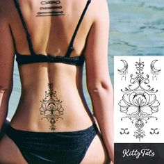 A 100 photo compilation of back tattoos for women. From black and gray to color, big to small, this comprehensive list will inspire your next project. Celtic Tattoos, Star Tattoos, Wolf Tattoos, Skull Tattoos, Body Art Tattoos, Animal Tattoos, Sleeve Tattoos, Horse Tattoos, Turtle Tattoos