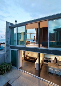 Casa in cemento Nuova Zelanda