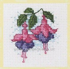 Shop online for Fuchsias Gift Card Cross Stitch Kit at sewandso.co.uk. Browse our great range of cross stitch and needlecraft products, in stock, with great prices and fast delivery.